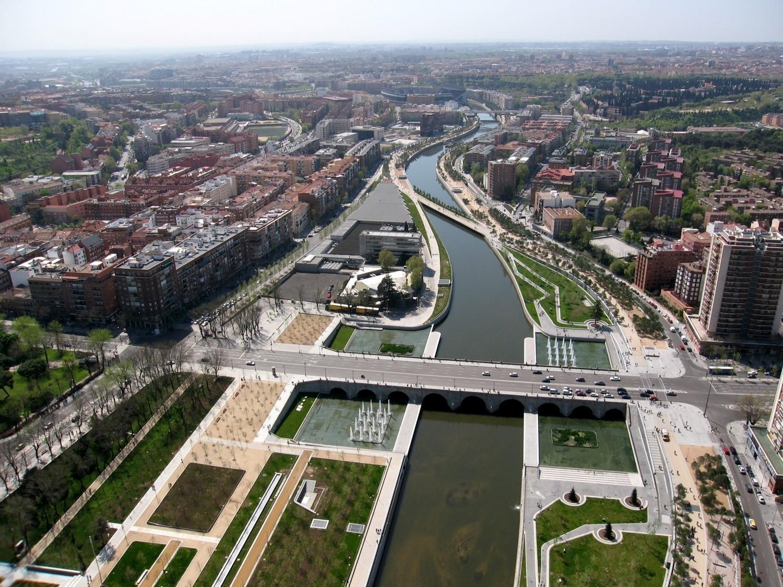 MADRID RIO, die neue Stadt-Landschaft am Manzanares